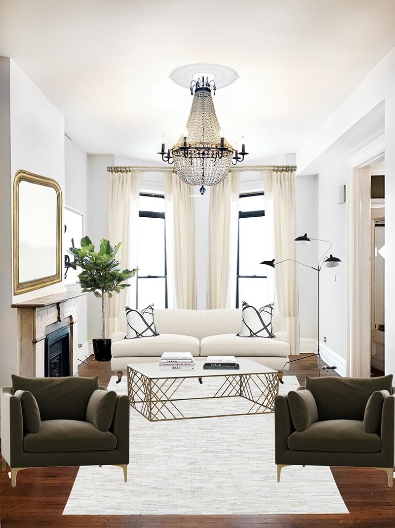 Our Living Room Design – Elizabeth Street Post