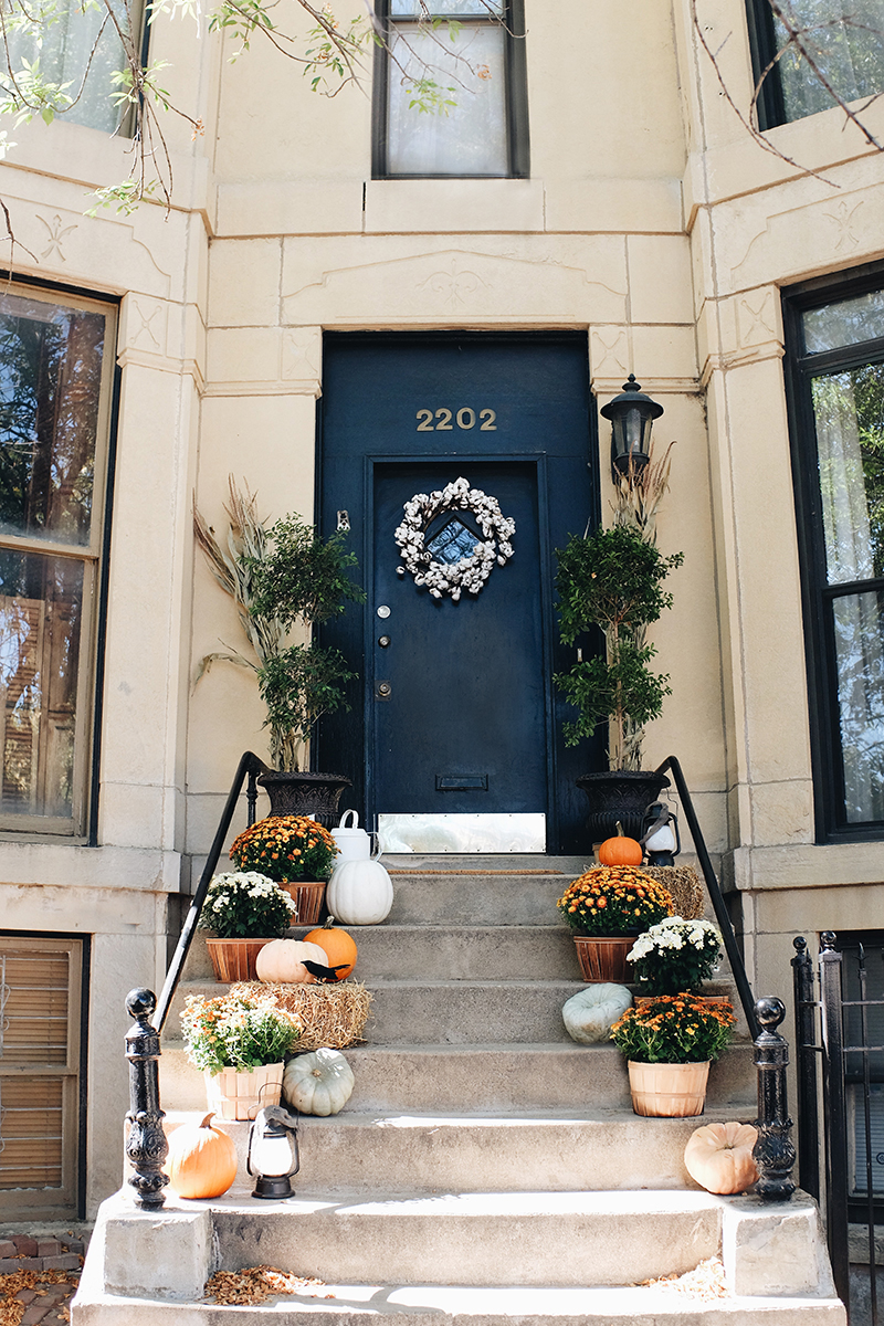 Our Fall Front Stoop Makeover Elizabeth Street Post