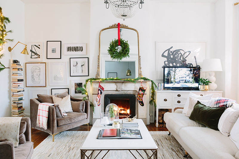 My Holiday Home Tour Is Live: Win a Petite Caitlin Chair from ...