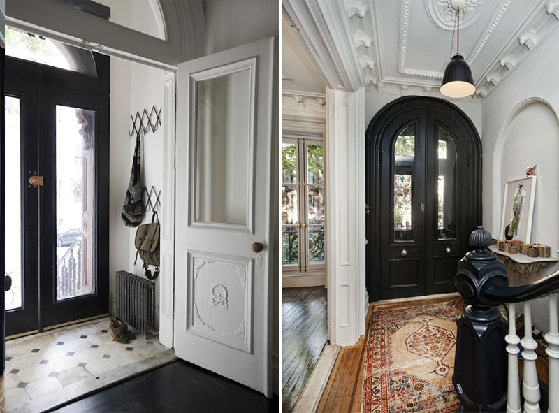 Our Entryway Before And After
