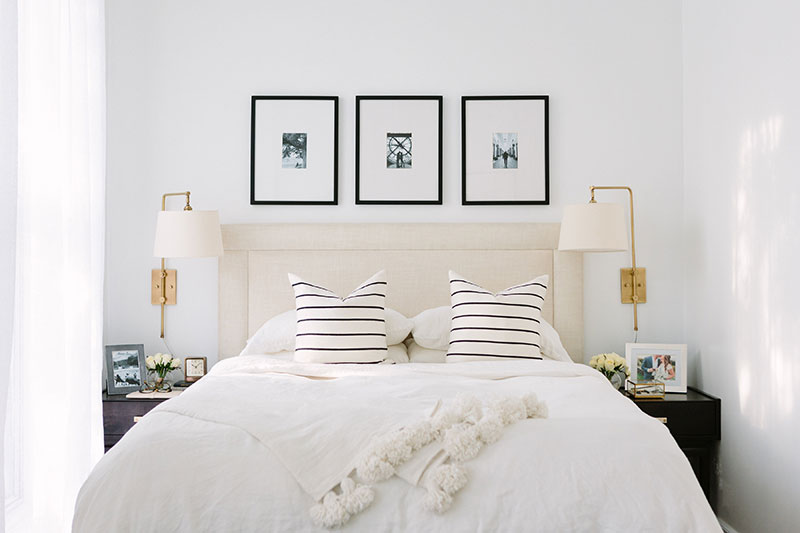 A Fresh and Budget-Friendly Bedroom Design for Two