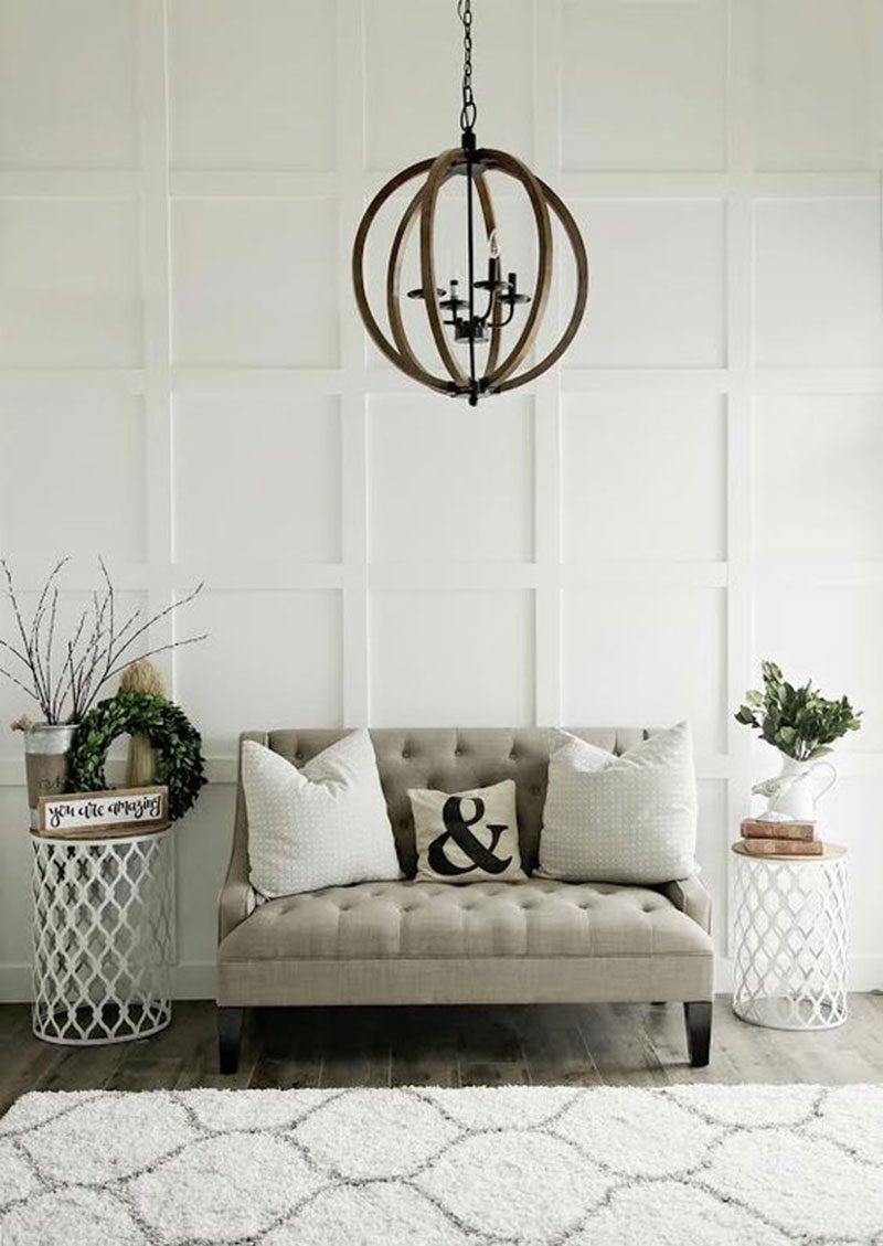 Living Room Accent Wall: Look I Love And How To Get It: Board And Batten Wall Trim