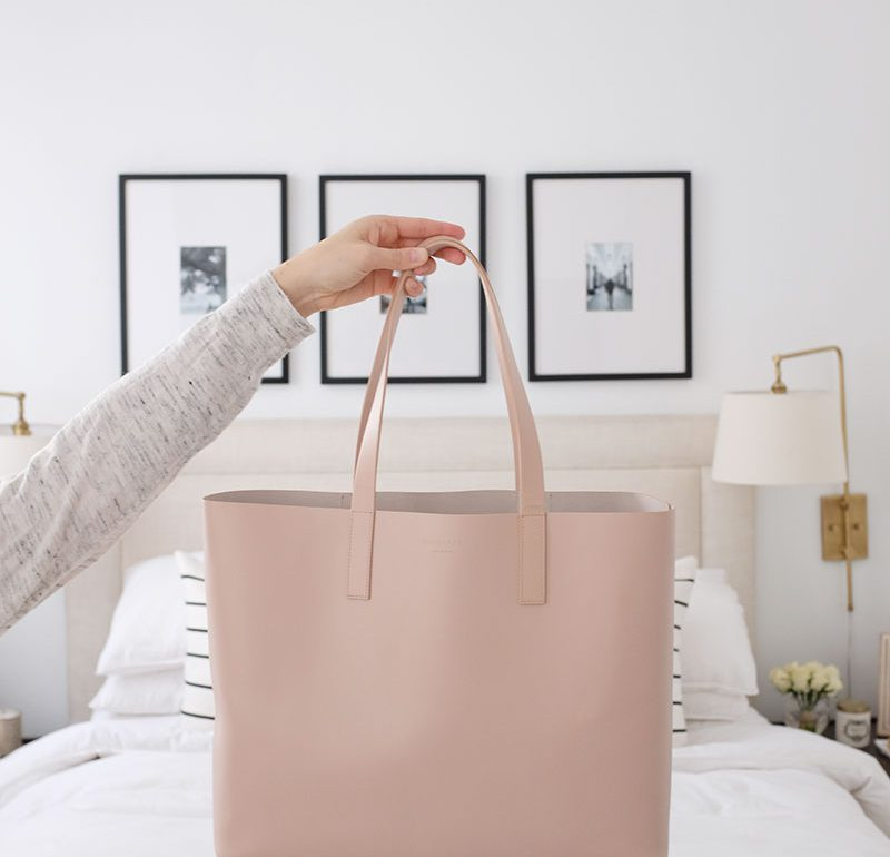 The Great Tote Bag Debate: Help Me Decide Blush or Taupe?
