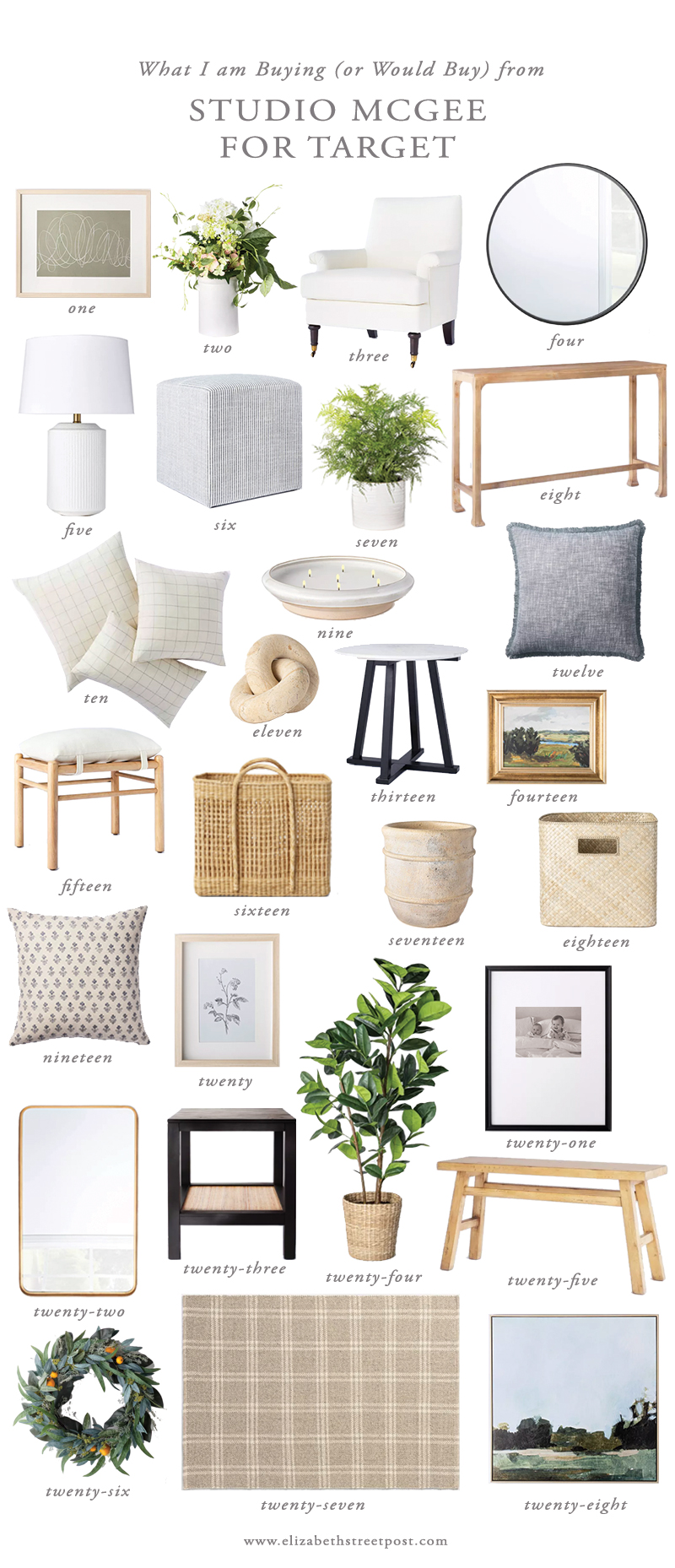 Studio Mcgee For Target What I M Buying Elizabeth Street Post